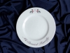 Ceramic printing custom dinnerware, Holiday Plate