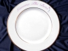 Ceramic printing custom dinnerware, Sorority Plate