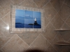 Ceramic printing custom tile, Shower - Mural